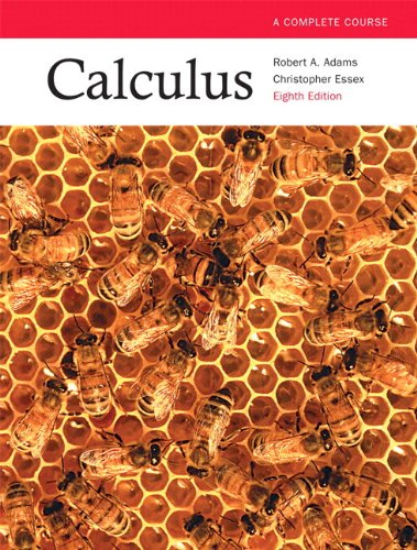 Calculus: A Complete Course, Eighth Edition with