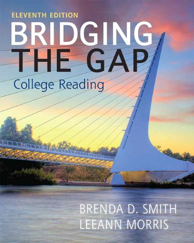 9780321881663: Bridging the Gap with NEW MyReadingLab with eText -- Access Card Package (11th Edition)