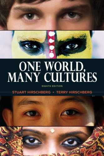 9780321881700: One World, Many Cultures with NEW MyCompLab -- Access Card Package (8th Edition)
