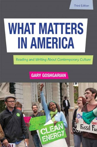 9780321881793: What Matters in America with NEW MyCompLab -- Access Card Package (3rd Edition)