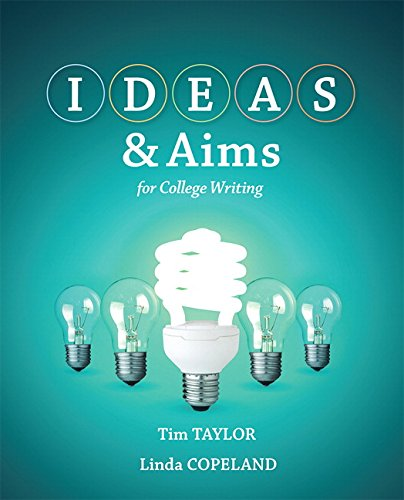 9780321881809: IDEAS & Aims with MyWritingLab with eText -- Access Card Package