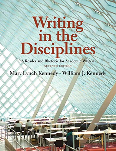 9780321882059: Writing in the Disciplines: A Reader and Rhetoric Academic Writers with NEW MyCompLab -- Access Card Package (7th Edition)