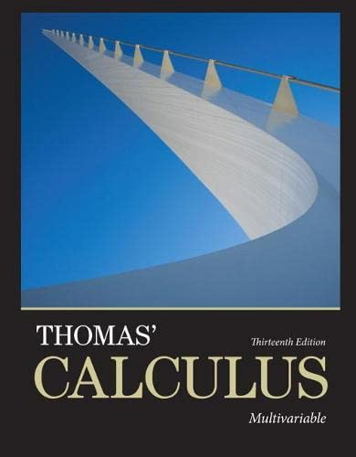9780321884053: Thomas' Calculus: Multivariable (13th Edition)