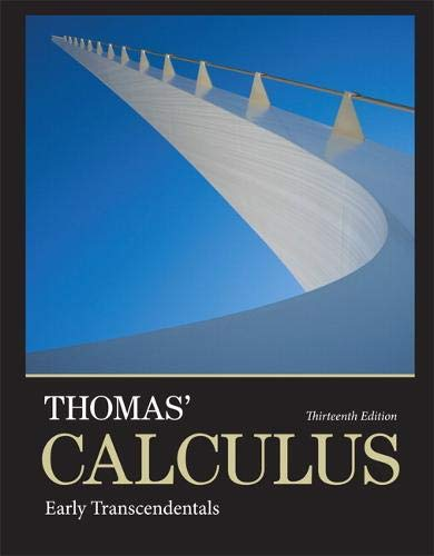 9780321884077: Thomas' Calculus: Early Transcendentals (13th Edition)