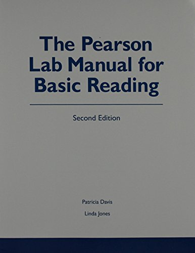 9780321884596: Pearson Lab Manual for Basic Reading, The Plus NEW MyReadingLab -- Access Card Package (2nd Edition)