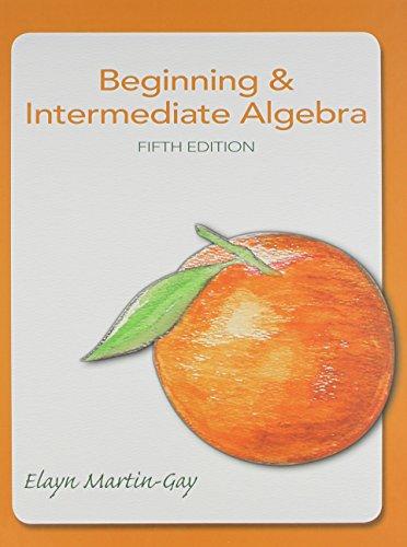 9780321884725: Beginning & Intermediate Algebra plus MyMathLab -- Valuepack Access Card