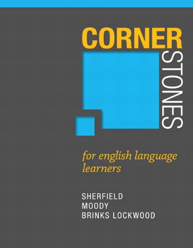 9780321886231: Cornerstones for English Language Learners Plus NEW MyStudentSuccessLab 2012 Update -- Access Card Package (Cornerstones Franchise)