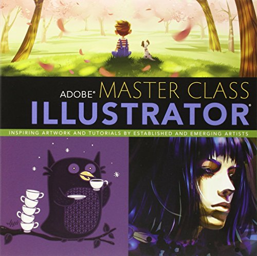 9780321886408: Adobe Master Class: Illustrator Inspiring artwork and tutorials by established and emerging artists