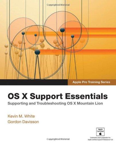 9780321887191: OS X Support Essentials