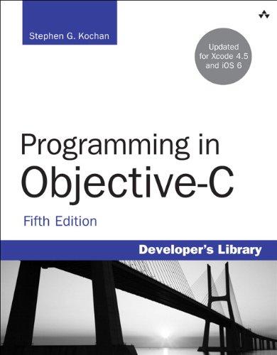 9780321887283: Programming in Objective-C (Developer's Library)