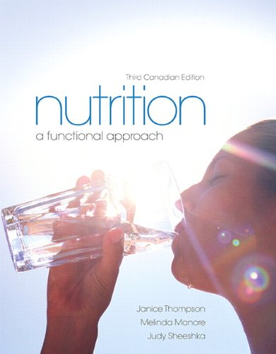 9780321888648: Nutrition: A Functional Approach, Third Canadian Edtion with MyNutritionLab (3rd Edition)