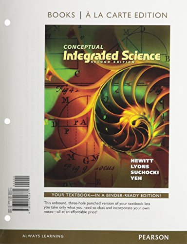 9780321889003: Conceptual Integrated Science, Books a la Carte Plus MasteringPhysics with eText -- Access Card Package (2nd Edition)