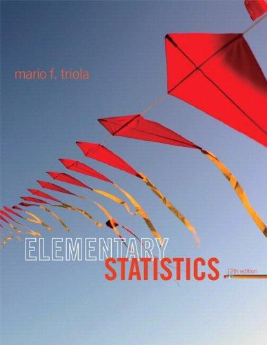 Elementary Statistics P: Triola, Mario F.