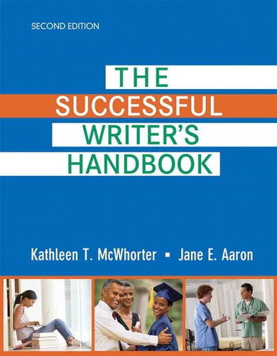 9780321890276: The Successful Writer's Handbook Plus New Mywritinglab with Pearson Etext