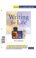 9780321890337: Writing for Life: Paragraphs and Essays, Books a la Carte Plus NEW MyWritingLab with eText -- Access Card Package (2nd Edition)