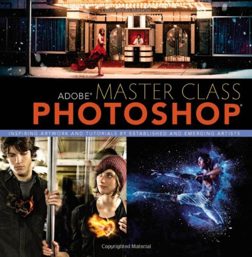 9780321890481: Adobe Master Class: Photoshop Inspiring artwork and tutorials by established and emerging artists