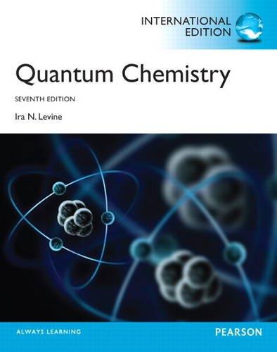 9780321890603: Quantum Chemistry