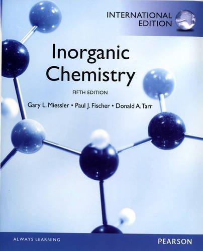 9780321891020: Inorganic Chemistry:International Edition
