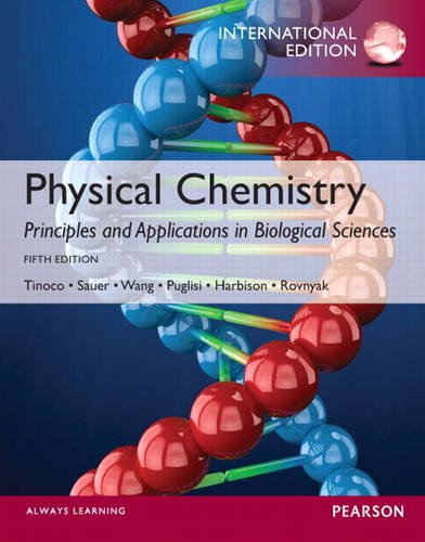 9780321891044: Physical Chemistry: Principles and Applications in Biological Sciences: International Edition
