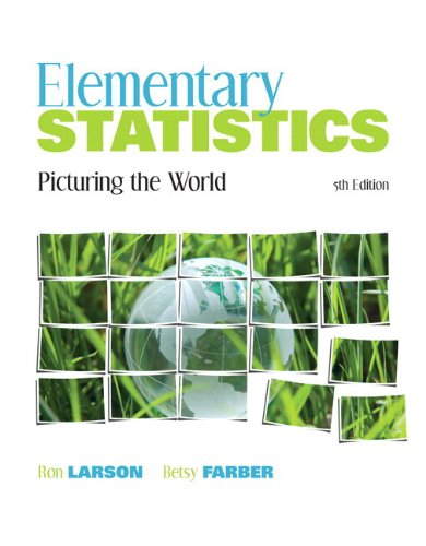 9780321891877: Elementary Statistics: Picturing the World Plus MyStatLab with Pearson eText -- Access Card Package