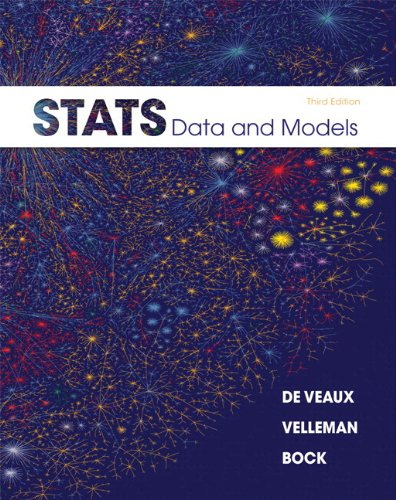 9780321891884: Stats: Data and Models Plus MyStatLab with Pearson eText -- Access Card Package (3rd Edition)