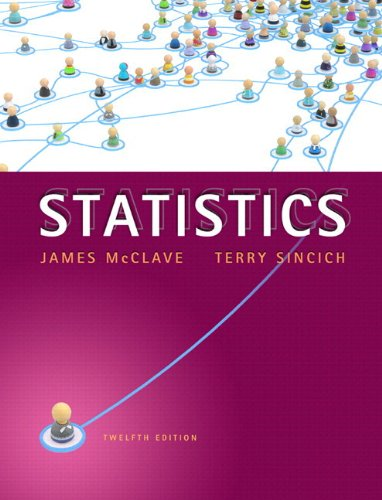 Statistics Plus NEW MyStatLab with Pearson eText -- Access Card Package (12th Edition): McClave, ...