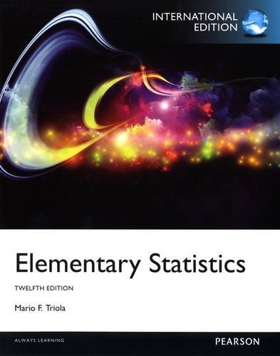 9780321894014: Elementary Statistics