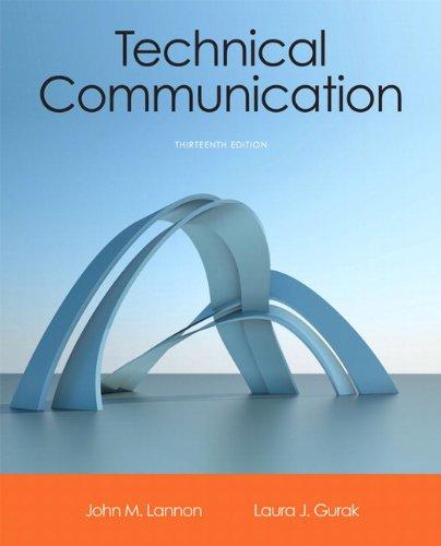 Technical Communication, Books a la Carte Edition: Lannon, John M.;