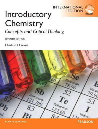 9780321896674: Introductory Chemistry: Concepts and Critical Thinking