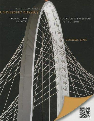 9780321898012: University Physics with Modern Physics Technology Update, Volume 1 (Chs. 1-20) (13th Edition)
