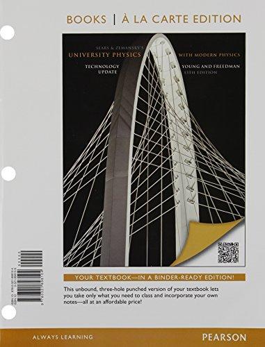 University Physics Plus Modern Physics Technology Update, Books a la Carte Plus MasteringPhysics ...