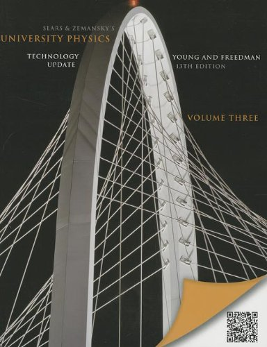 9780321898135: University Physics with Modern Physics Technology Update, Volume 3 (Chs. 37-44):United States Edition