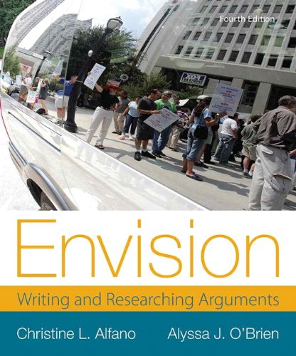9780321899958: Envision: Writing and Researching Arguments (4th Edition)