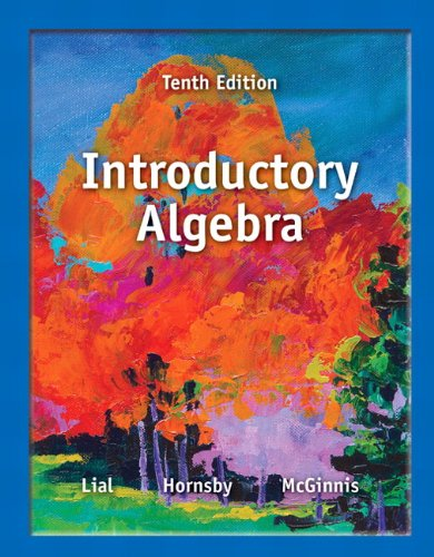 Introductory Algebra Plus NEW MyMathLab with Pearson eText -- Access Card Package (10th Edition) (...