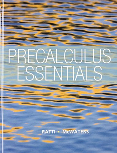 9780321900487: Precalculus Essentials plus NEW MyMathLab with Pearson eText -- Access Card Package (Ratti/McWaters Series)