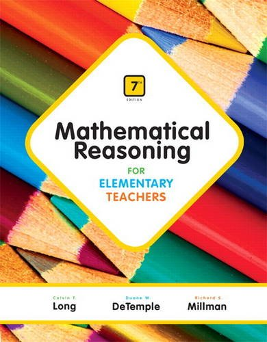 9780321900999: Mathematical Reasoning for Elementary Teachers (7th Edition)
