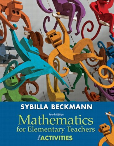 Mathematics for Elementary Teachers with Activities Plus