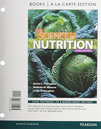 9780321901828: Science of Nutrition, The, Books a la Carte Plus MasteringNutrition with eText -- Access Card Package (3rd Edition)
