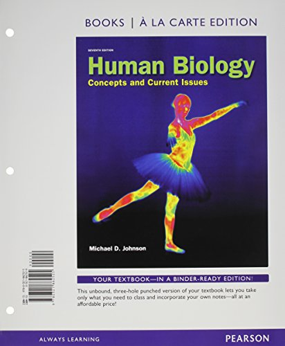 Human Biology: Concepts and Current Issues, Books: Johnson, Michael D.