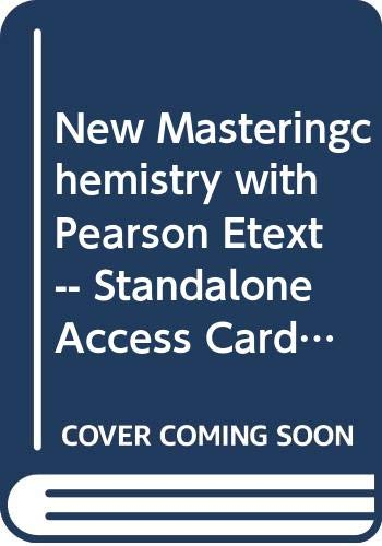 9780321903532: Modified MasteringChemistry with Pearson eText -- Standalone Access Card -- for Conceptual Chemistry (5th Edition)