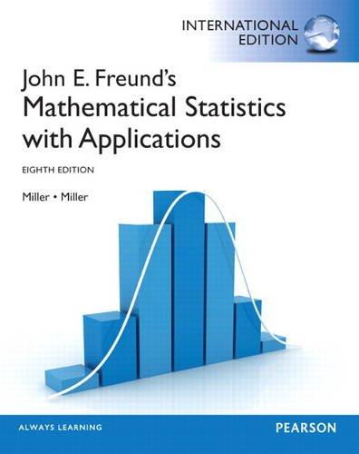 9780321904409: John E. Freund's Mathematical Statistics with Applications