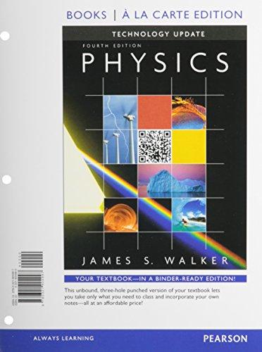 9780321904997: Physics Technology Update, Books a la Carte Edition (4th Edition)