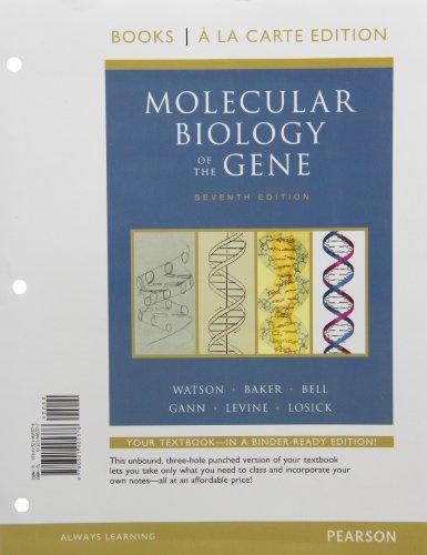 9780321905376: Molecular Biology of the Gene, Books a la Carte Edition (7th Edition)
