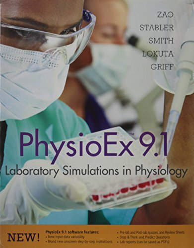 9780321905413: PhysioEx 9.0: Laboratory Simulations in Physiology