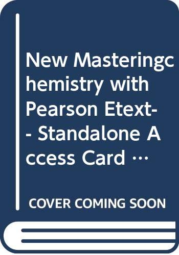 9780321905574: Modified MasteringChemistry with Pearson eText-- Standalone Access Card -- for General, Organic, and Biological Chemistry (2nd Edition)