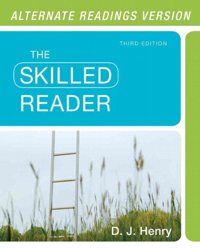 9780321905833: Skilled Reader, The, Alternate Edition with NEW MyReadingLab with eText -- Access Card Package (3rd Edition)