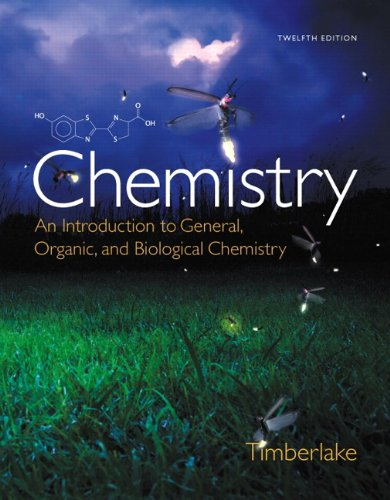 9780321907141: Chemistry: An Introduction to General, Organic, and Biological Chemistry