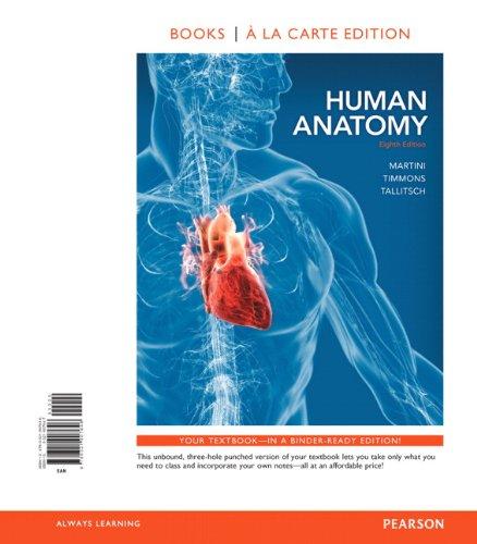 9780321907646: Human Anatomy, Books a la Carte Edition (8th Edition)