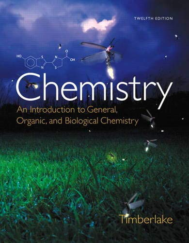 9780321908445: Chemistry:An Introduction to General, Organic, and Biological Chemistry