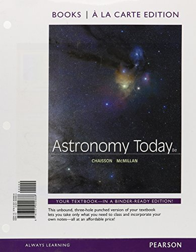9780321909688: Astronomy Today, Books a la Carte Edition (8th Edition)